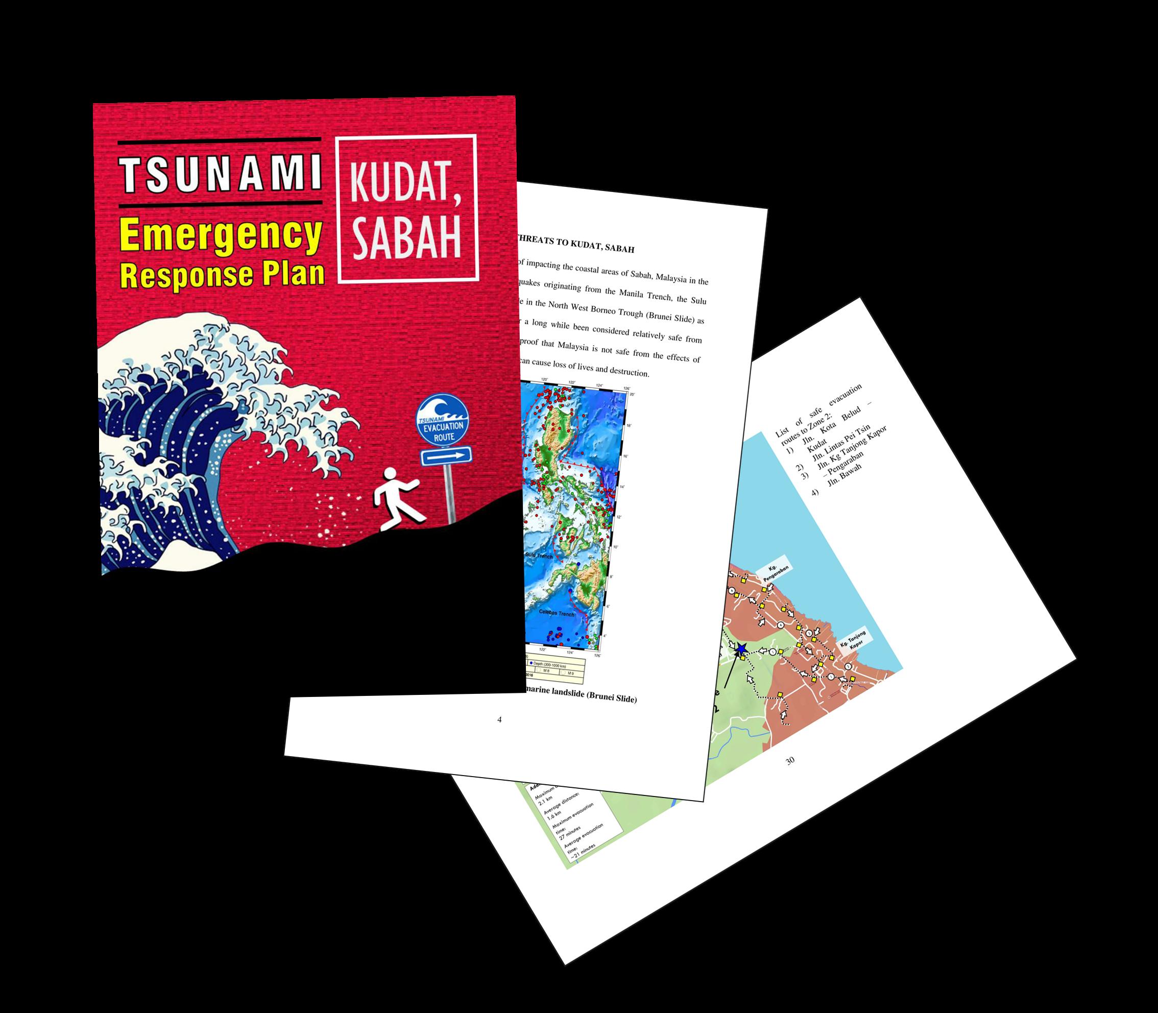 Tsunami Emergency Response Plan (TERP) for Kudat, Sabah